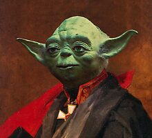 Portrait of Master Yoda by KAMonkey