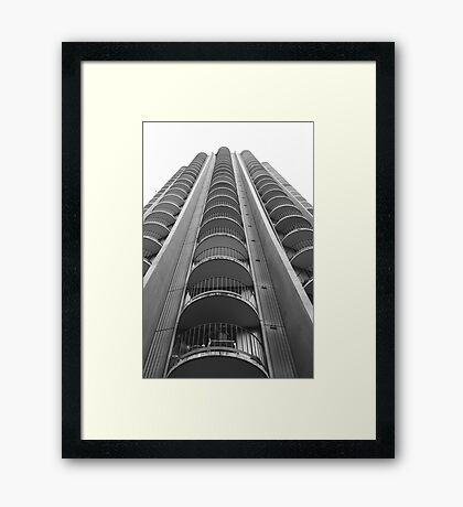 Like a skyscraper Framed Print