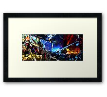 Capcom vs Konami Framed Print