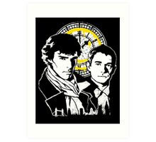 John and Sherlock Art Print