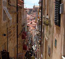 Streets of Dubrovnik - 1 by MigBardsley