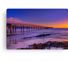 """""""A Winter's Morning In Lorne"""" Canvas Print"""