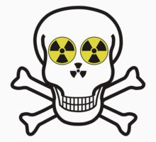 NUCLEAR FALL-OUT SKULL & CROSSBONES by Chillee Wilson by ChilleeWilson