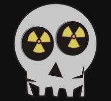 NUCLEAR FALL-OUT SKULL by Chillee Wilson by ChilleeWilson