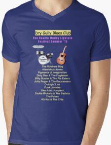 Dry Gully Blues Club Summer Festival Mens V-Neck T-Shirt