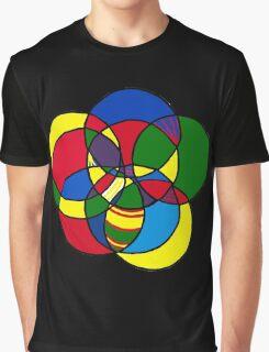 Encircled Circles Graphic T-Shirt