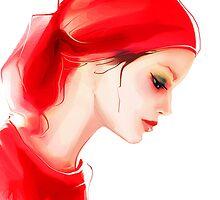 Fashion woman  portrait  by Teni