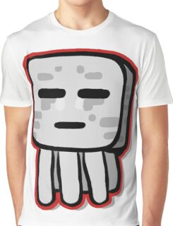 Minecraft Ghast drawing Graphic T-Shirt