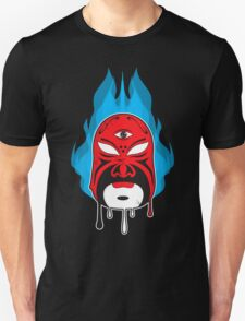 Mask Blue Flame I T-Shirt