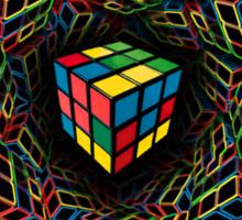 Rubix vision Sticker