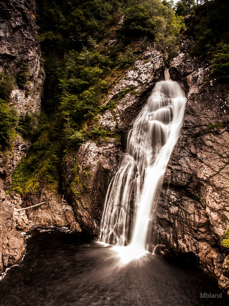 Falls of Foyers, Upper.  by Mbland