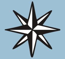 Compass Rose (Two-Color) by theshirtshops