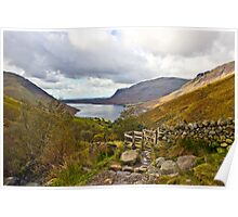 Wastwater - Lake District, Cumbria Poster