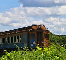 Silenced Passenger Train by PineSinger