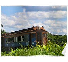 Silenced Passenger Train Poster