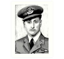 Spooky Airman Art Print