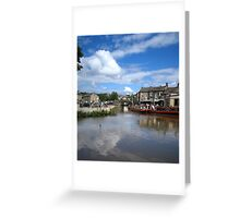 Skipton Bridge Greeting Card