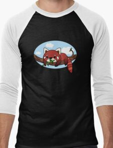 Red panda Men's Baseball ¾ T-Shirt