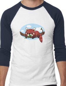 Red panda Men's Baseball ¾ T-Shirt