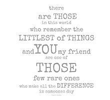 those who remember~ by Brandi Burdick
