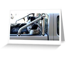 Backseat Drivers Greeting Card