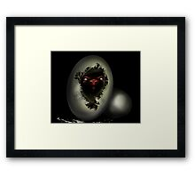 Born Angry Framed Print