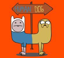 Finn & Jake- CatDog by james0scott