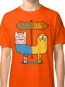 Finn & Jake- CatDog Classic T-Shirt