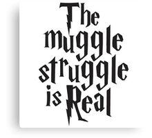 Harry Potter The Muggle Canvas Print