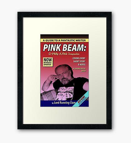 Philip K Dick (Pulp Style) Framed Print