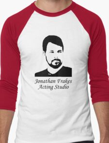 Jonathan Frakes Acting Studio Men's Baseball ¾ T-Shirt