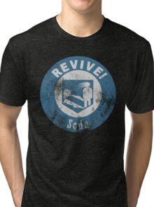 Quick Revive - Zombies Perk Emblem Tri-blend T-Shirt