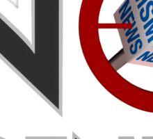 No Agenda Logo - Stickers! Sticker