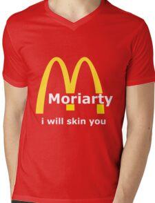 Moriarty - I will skin you - Light Mens V-Neck T-Shirt