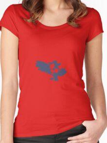 Murkrow Evolution Women's Fitted Scoop T-Shirt