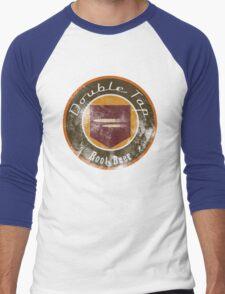 Double Tap Root Beer - Zombies Perk Emblem Men's Baseball ¾ T-Shirt