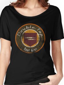 Double Tap Root Beer - Zombies Perk Emblem Women's Relaxed Fit T-Shirt