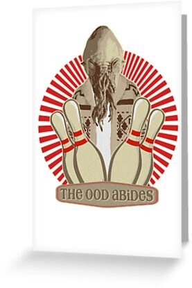 The Ood Abides - Doctor Who Meets the Big Lebowski - Lebowski - Dude Sweater - OOD - The Dude and The Doctor by traciv