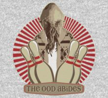 The Ood Abides - Doctor Who Meets the Big Lebowski - Lebowski - Dude Sweater - OOD - The Dude and The Doctor Kids Tee