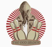 The Ood Abides - Doctor Who Meets the Big Lebowski - Lebowski - Dude Sweater - OOD - The Dude and The Doctor One Piece - Short Sleeve