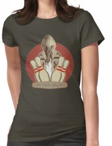 The Ood Abides - Doctor Who Meets the Big Lebowski - Lebowski - Dude Sweater - OOD - The Dude and The Doctor Womens Fitted T-Shirt