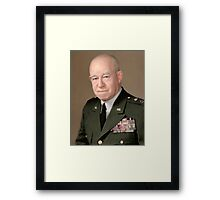 General Omar Bradley Framed Print