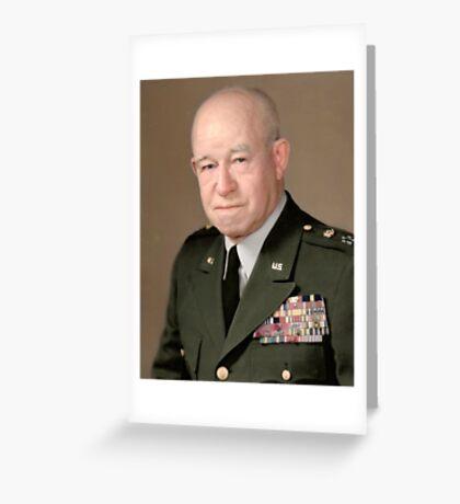General Omar Bradley Greeting Card