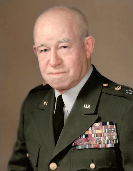General Omar Bradley by Mads Madsen