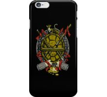 Turtle Family Crest iPhone Case/Skin