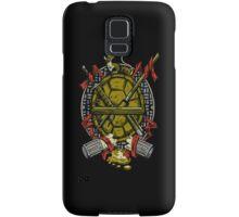Turtle Family Crest Samsung Galaxy Case/Skin