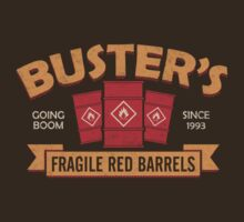 Buster's Fragile Red Barrels T-Shirt