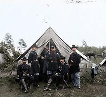 Generals Mott & H.H. Ward by Mads Madsen