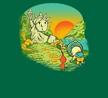 Planet of the pikminis Unisex T-Shirt