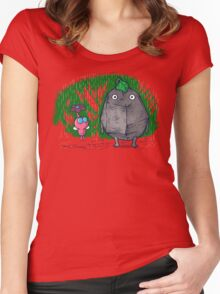 My little neighbors Women's Fitted Scoop T-Shirt